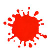 Red Paint splat