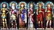 Les Saints au temps de Charlemagne - 20605209