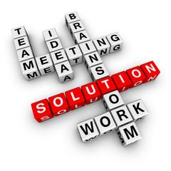 solution crossword