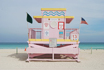 Haulover Beach Lifeguard Stand