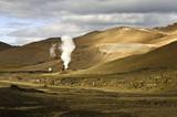 Krafla Geothermal Power plant poster