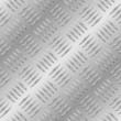 Diamond metal plate seamless vector pattern.