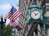 Marshall Field ceas şi Steaguri american