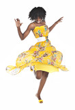 Fototapety african woman dancing