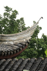 chinese building eaves.