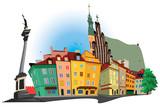 Warsaw old Town - 20622280