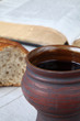 Wine, bread and Bible