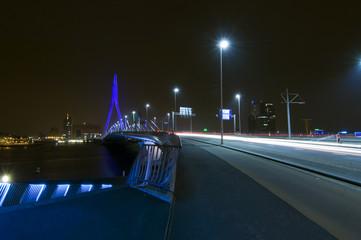 Erasmus Bridge at Night