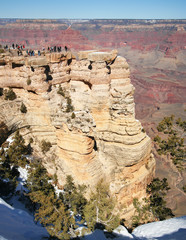 The Vast Majesty of the Grand Canyon from Mather Point