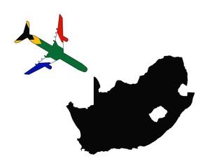 Avion hacia sudafrica
