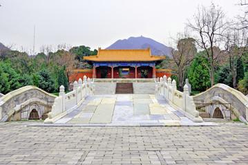 China, Beijing the Ming Tomb Shisanling.