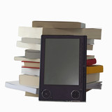 eBook and books poster