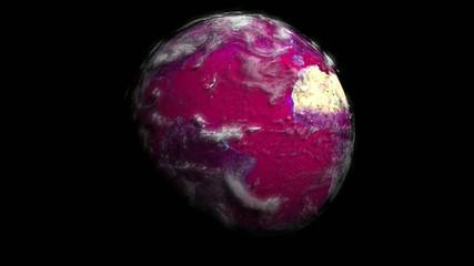 Pink planet la planète rose