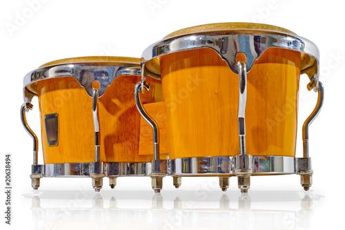 Leinwanddruck Bild bongos
