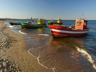 Fishing boats in Sopot