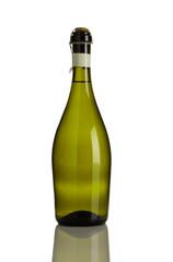 Prosecco Flasche isoliert auf weiß
