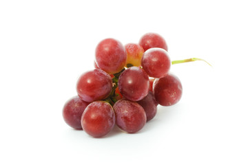 a bunch of red grape