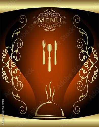 Hotel+menu+card+background