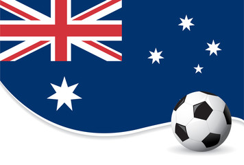 Australia football world cup background