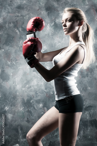 Boxer woman fashion