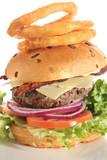 Gourmet cheese burger