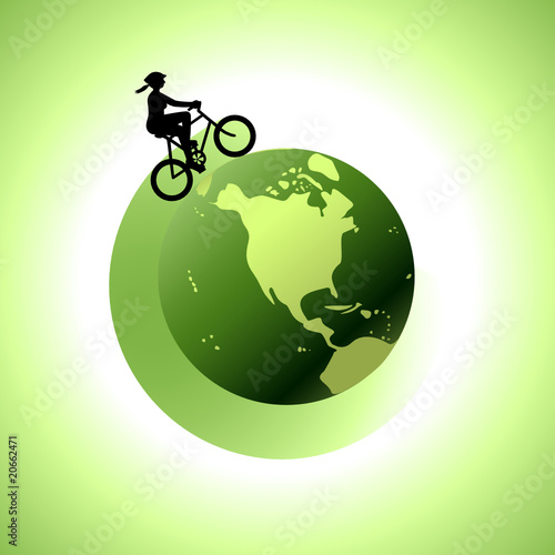 Woman Biking Around The World 2