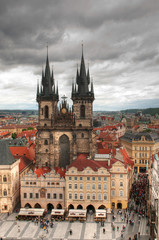 Church of Our Lady of Tyn in Prague