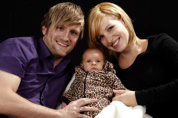 Eltern mit ihrem Baby