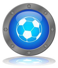 SOCCER Button (Football Ball World Cup Sport Goal Player Vector)