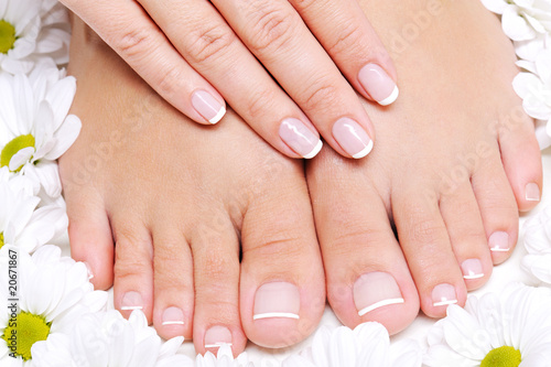 Pure and Beauty  female feet - 20671867