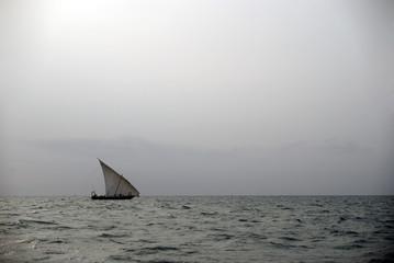 Dhow, Kwale Island, Zanzibar, Tanzania