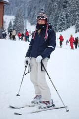 Girsl in Ski Gear