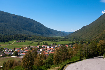 Julian Alps in Slovenia Mountains