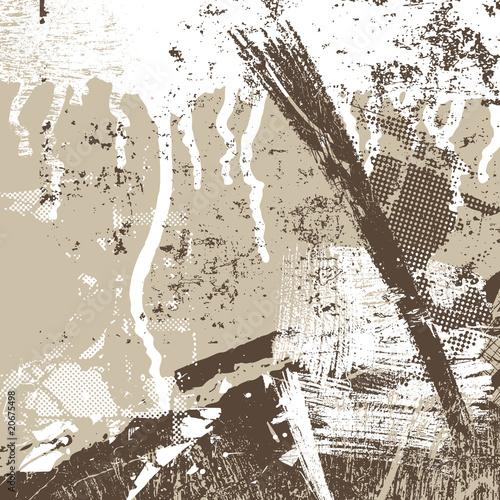 Grunge artistic background