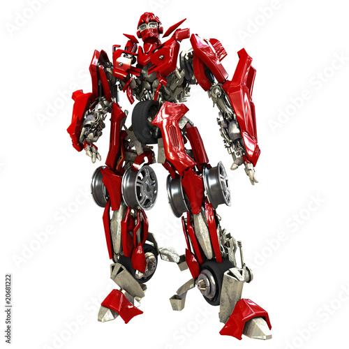 Leinwandbild Motiv Robot