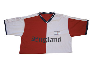 Non official t-shirt of England soccer team