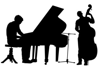 Pianist and bass