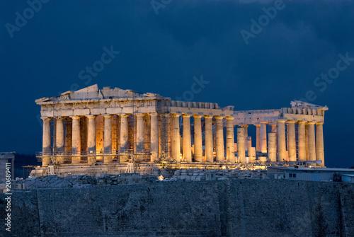 Foto op Canvas Athene Athens Acropolis Parthenon