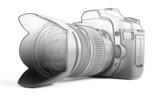 Reflex camera poster