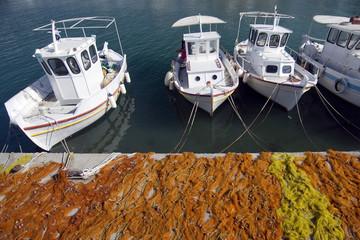 Fishing boats,Greece