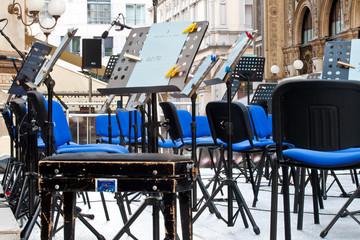 Palco degli orchestrali