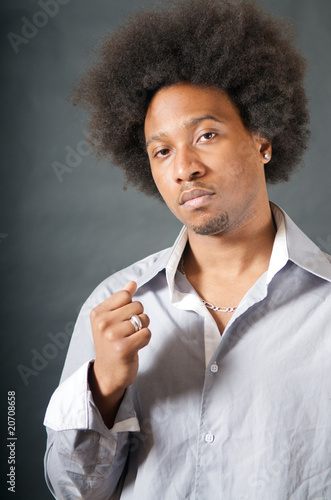 Cool African American Black Man