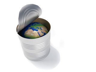 Earth globe conservation