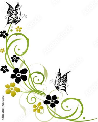 fr hling blumen bl ten ranke flowers floral stock. Black Bedroom Furniture Sets. Home Design Ideas
