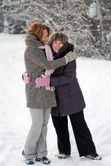 Friendship in winter