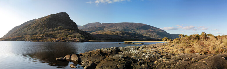 Irish mountains panoramic