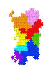 Puzzle Sardegna