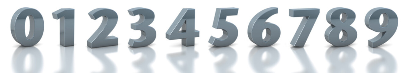 collection silver numbers