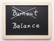 Burnout/Balance - Concept