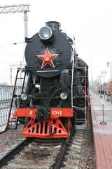 Soviet Union steam locomotive